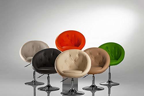 Duhome Sessel Farbenvielfalt höhenverstellbar Kunstleder Clubsessel Coctailsessel Loungesessel - Typ 509A