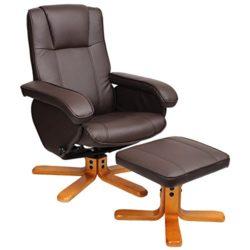 Relaxsessel Sessel TV Wohnzimmersessel Hocker Beinablage Fernsehsessel Drehstuhl