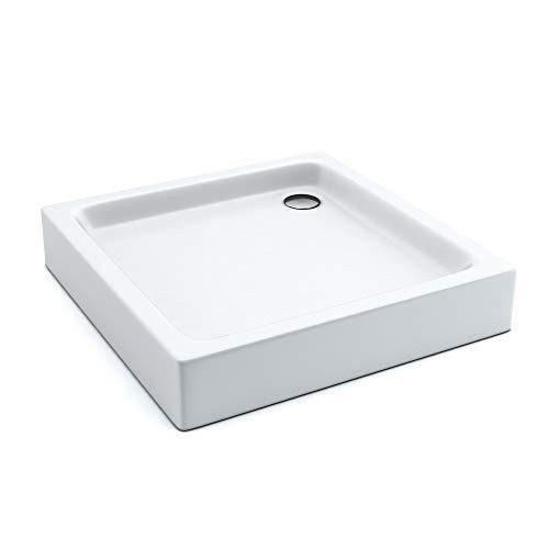 AQUABAD® Duschwanne Comfort Forta Plus Quadrat