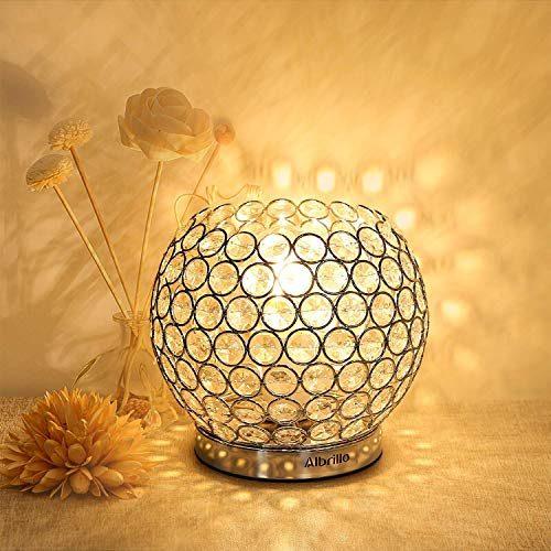 Albrillo Kristall Tischlampe