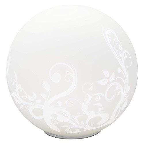 Brilliant Bona Tischleuchte, 1x E27 maximal 53W, Glas, weiß 10548/05