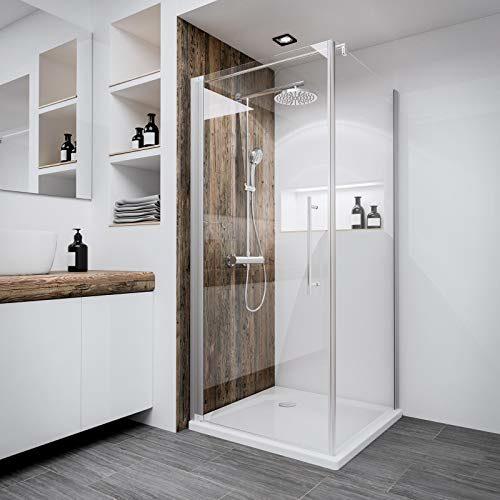 Duschkabine Bremen Drehtür mit Seitenwand , verschiedene Größen, verschiedene Gläser und Profilfarben, der Renovierungsprofi