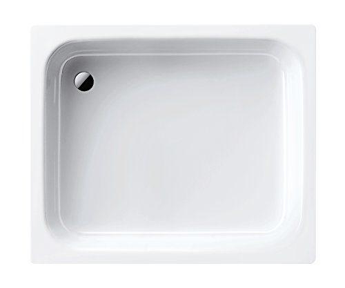 Kaldewei Stahl-Duschwanne Sanidusch | 395-1 | Duschwanne | Brausewanne | 80 x 80 x 14 cm | Weiß