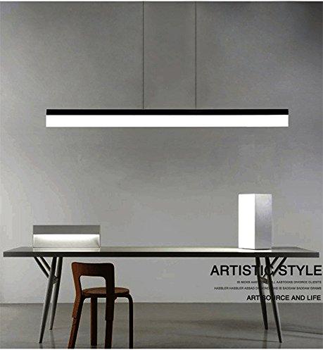 LED Pendelleuchte, CBJKTX Pendellampe esstisch 20W Büroleuchte