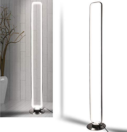 LED Stehleuchte Standlampe StehLampe Standleuchte Bodenlampe Wohnzimmer Flur Beleuchtung Modern Licht 140cm 50W Neutral-weiß