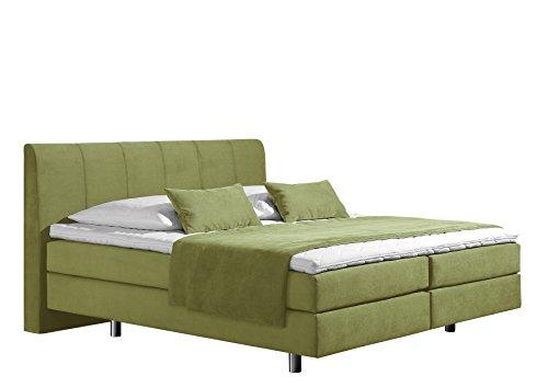 Maintal Betten Boxspringbett Montepellier Strukturstoff ecru