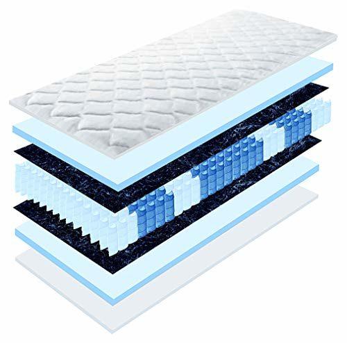 Matratzen Perfekt 20 cm hohe orthopädische 7-Zonen Taschenfederkernmatratze Köln Bezug waschbar, 60°C