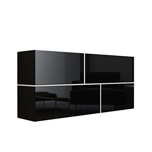 Mirjan24  Kommode Goya, Hängekommode, Anrichte, Mehrzweckschrank, Wohnzimmerschrank, Highboard, Sideboard, Wohnzimmer Schrank