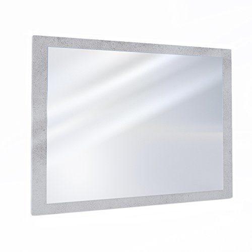OSKAR VICCO Badezimmerspiegel Badmöbel 45 x 60 cm - Spiegel Hängespiegel Badspiegel