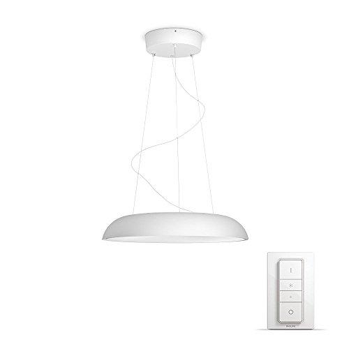 Philips Hue LED Pendelleuchte Amaze inkl. Dimmschalter, alle Weißschattierungen, steuerbar auch via App, 4023330P7