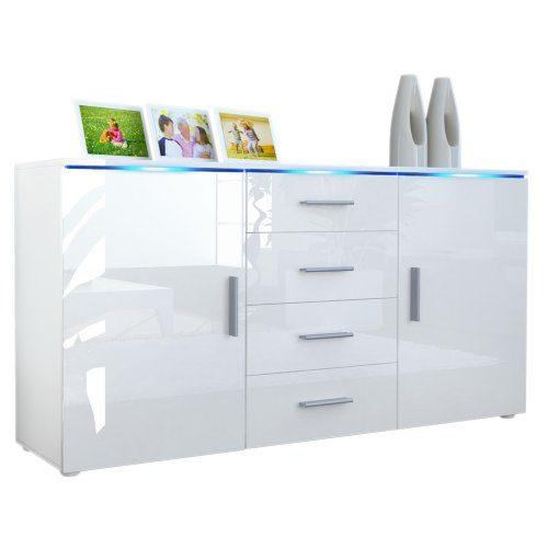 Sideboard Kommode Faro V1 V2 Weiß