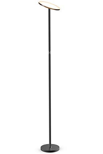 Stehlampe, LED Deckenfluter Standleuchten Stufenlos Dimmbare Industrielle Stehlampen, TECKIN Hohe Stehende Moderne Pole-Licht, Stehlampe für Wohnzimmer Büro Schlafzimmer, 71′ TECKIN Wohnkultur Lampen
