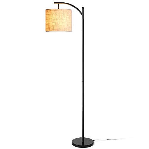 Stehlampe Wohnzimmer, Zanflare moderne LED Stehleuchte, Classic Arc Standleuchte, Stimmungslicht, wirtschaftliche Stehlampe mit langer Lebensdauer für Wohnzimmer, Schlafzimmer, Büro