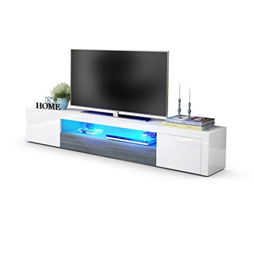 Vladon Santiago V2 TV Board Weiß