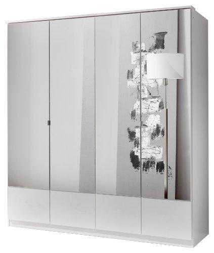 Wimex Kleiderschrank/ Drehtürenschrank Imago, (B/H/T) 180 x 199 x 58 cm, Weiß