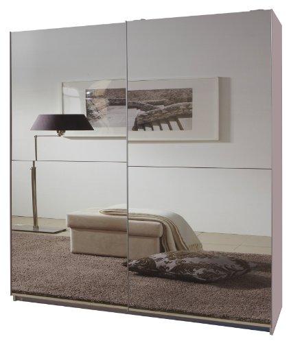 Wimex Kleiderschrank/ Schwebetürenschrank Queen, (B/H/T) 180 x 198 x 64 cm, Weiß