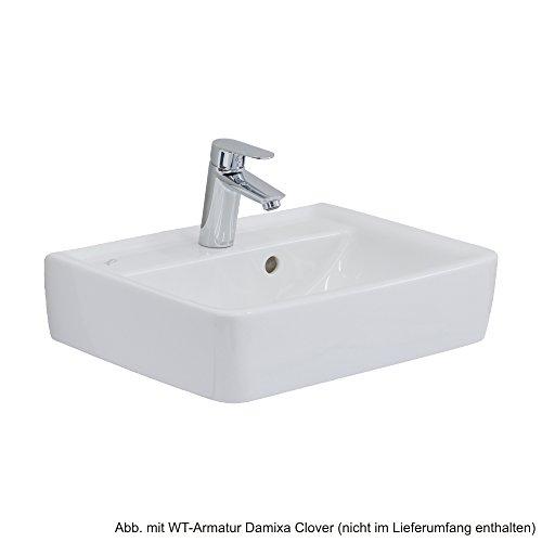 Keramag Handwaschbecken Renova Nr.1 Plan, 272150 50x38cm weiß(alpin) 272150000