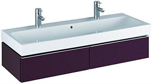 Keramag Waschbecken iCon, mit zwei Hahnlöchern 120x48,5cm weiß(alpin)