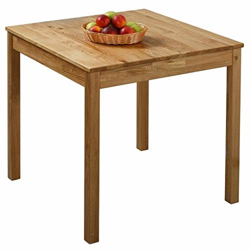Krokwood Tomas Massivholz Esstisch in Eiche FSC100% massiv Tisch geölt Eichenholz Esszimmertisch Küche praktischer Küchentisch Holztisch vom Hersteller