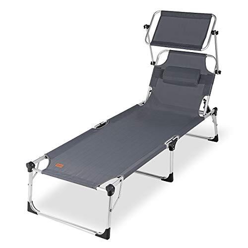 Sekey klappbar Sonnenliege | liegestuhl | Liege | relaxliege max. Belastung : 150 kg