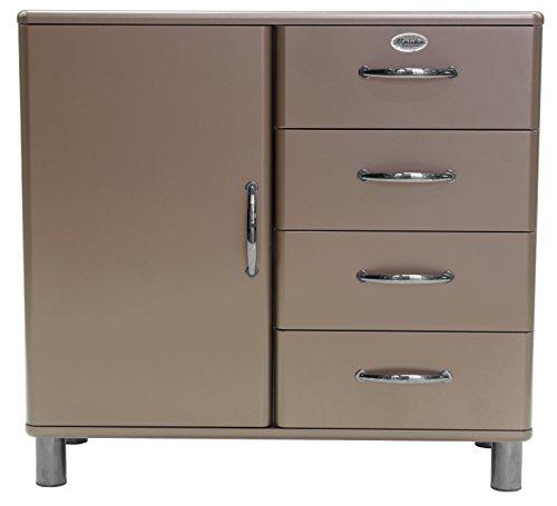 Tenzo Malibu Deluxe Designer Kommode/Sideboard, 92 x 98 x 41 cm, MDF lackiert
