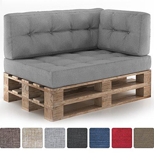 Vicco Farbvielfalt Palettensofa Palettenpolster Kissen Sofa Couch