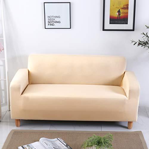 DECMAY Elastischer Sofabezug Strech Sofaüberwurf Sesselhusse Staubdichter Schutzbezug für Sofa in verschiedenen Größen
