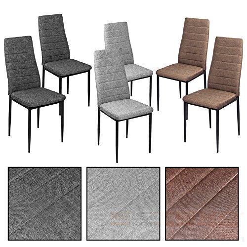 ESTEXO Esszimmerstühle wählbar - Stuhl Stühle 2/4/6/8 St. Küchenstuhl Essstuhl Essgruppe