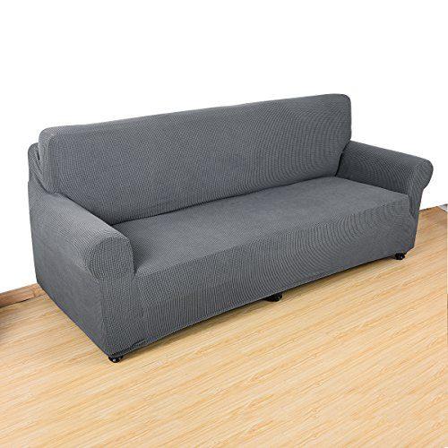 Interlink-UK Sofabezug Sofahusse Elastisch Stretch Jacquard aus Rutschfest Material Elegant