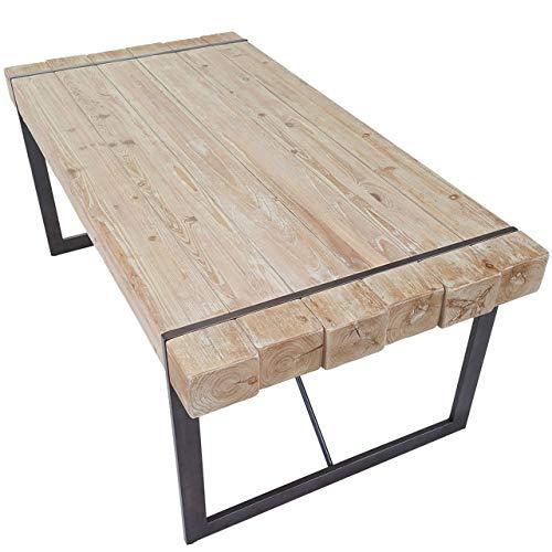 Mendler Esszimmertisch HWC-A15, Esstisch Tisch, Tanne Holz rustikal massiv