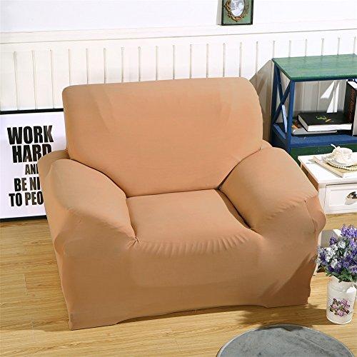 ele ELEOPTION Sofa Überwürfe Sofabezug Stretch elastische Sofahusse Sofa Abdeckung inkl. einen Kissenbezug in Verschiedene Größe und Farbe