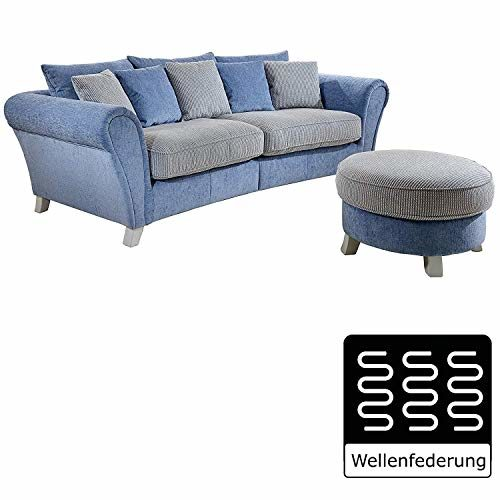 Cavadore Big Sofa und Hocker Calianne