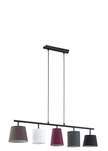 EGLO Hängeleuchte, Stahl, E14, Bunt, 105 x 20 x 110 cm