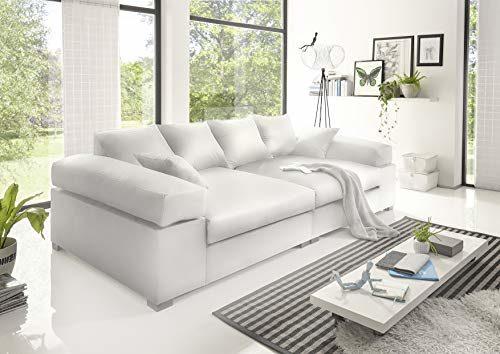Reboz Big Sofa weiß grau beige braun schwarz Megasofa Kunstleder