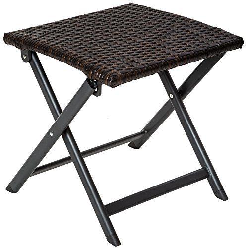TecTake Aluminium Poly Rattan Gartenmöbel | Braun | -verschiedene Modelle-