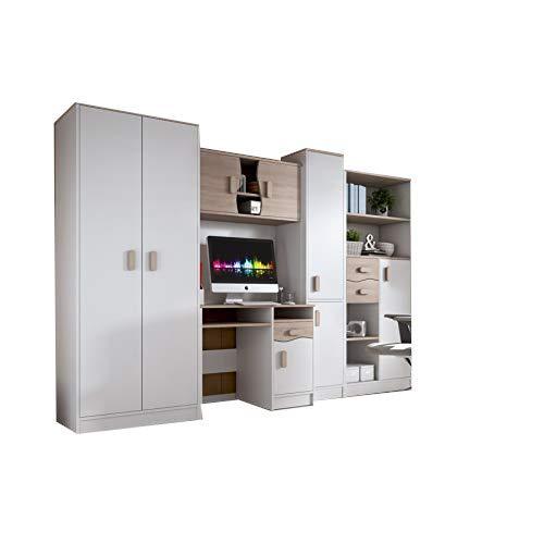 mb-moebel Moderne Wohnwänd Kinderzimmerschrank Jugendzimmer Möbel komplettprogramme IDO1