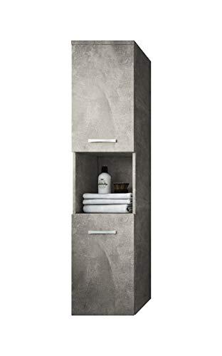 Badplaats B.V. Badezimmer Schrank Montreal 131 cm - Regel Schrank Hochschrank Schrank Möbel