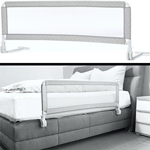 Kinder Bettschutzgitter EXTRA HOCH optimal für Boxspringbett/Bett Standard